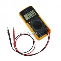 Multimetru digital dt9208a cu functie de masurare Temperatura