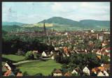 GERMANIA - FREIBURG IM BREISGAU - VEDERE PANORAMICA - CP CIRCULATA #colectosfera