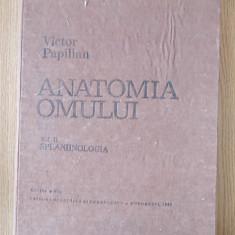 VICTOR PAPILIAN- ANATOMIA OMULUI, VOL. II- cartonata