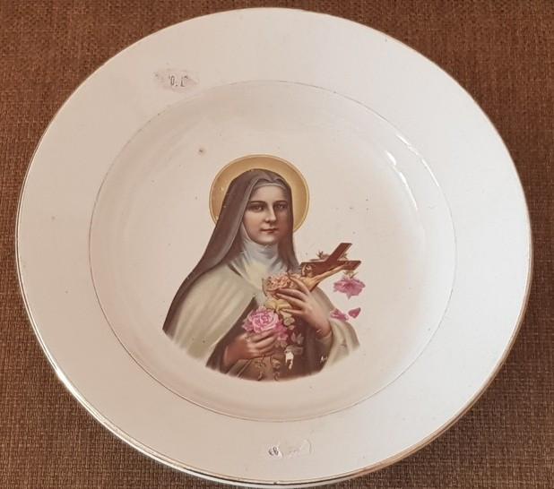 Farfurie fainta portelan blid Franta FECIARA MARIA - icoana