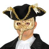 Masca Venetiana Barbati cu Nas Lung-PartyMag