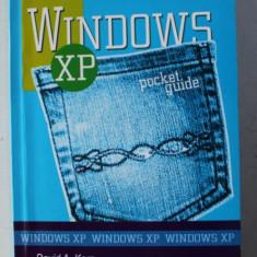 WINDOWS XP , POCKET REFERENCE de DAVID A. KARP , 2007