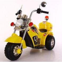 Motocicleta electrica pentru copii 995 6V - Galben