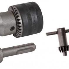 Set mandrina cu cheie si adaptor SDS