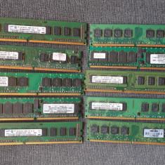lot 10 placi ram DDR2 de 1 gb - pentru pc -