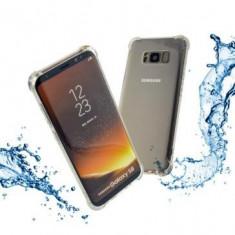 Husa TPU transparenta si folie protectie ecran transparenta Samsung Galaxy S8 Pl, Oem