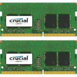 Cumpara ieftin Memorii Laptop Crucial, 16GB(2x8GB), DDR4-2400MHz, 1.2V, CL17