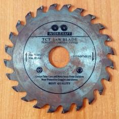 Cumpara ieftin FREZA DISC - D.ext 115 X 1 mm (d.int 22 mm)