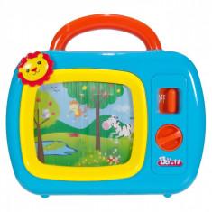 Jucarie interactiva bebe, 23x22x5cm, cu sunete, multicolor
