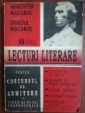 Lecturi literare pentru concursul de admitere in licee si scoli profesionale- Augustin Macarie, Dorina Macarie