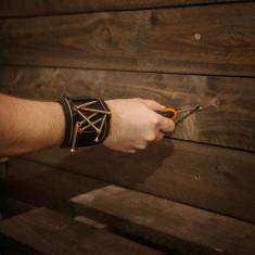 Suport magnetic unelte, tip curea, pentru incheietura mainii