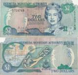 2000 ( 24 V ) , 2 dollars ( P-50a ) - Bermuda