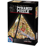 Pyramid Puzzle. Cartoon. 500 piese 65964 PC 01, D-Toys