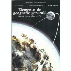 Elemente de geografie generala - Jana Ioanscu ( clasa a V a )