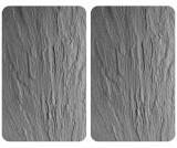 Set 2 planse protectoare pentru plita Grey - Wenko, Gri & Argintiu