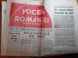 Ziarul vocea romaniei 10 decembrie 1993 - cotidian al guvernului