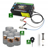 Pachet Gard electric Nexon pentru animale 3,1J putere plus 5000m de fir 120kg