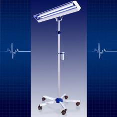 Cumpara ieftin Lampa bactericida UVC de 2x30W cu suport mobil, sterilizare suprafete