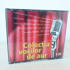 Colectia vocilor de aur, set Readers Digest 5 cd-uri noi!