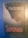 MACROBIUS - SATURNALIA