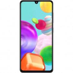 Telefon mobil Samsung Galaxy A41 64GB 4GB RAM Dual Sim 4G Prism Crush White