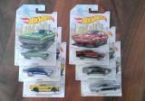 Machete HotWheels - set Detroit Muscle complet (American Cars)
