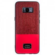 Husa Magnetica Samsung Galaxy S8 Plus Rosu Glitter CTK