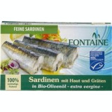 Sardine in Ulei de Masline Bio 120gr Fontain Cod: 562072