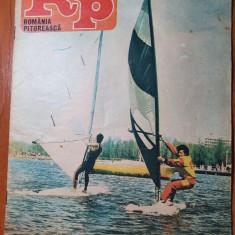 romania pitoreasca iulie 1985-art. si foto baile govora,sinaia,muntii bargaului