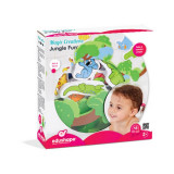 Set 17 figurine pentru baie Magic Creation Edushape - Jungla