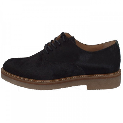 Pantofi dama, din piele naturala, marca KicKers, 656260-50-01-134, negru 38 foto