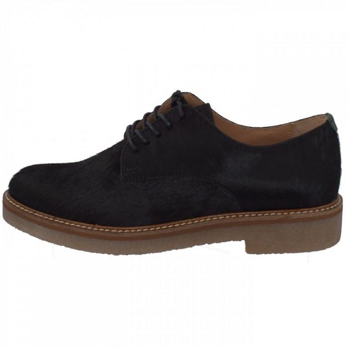 Pantofi dama, din piele naturala, marca KicKers, 656260-50-01-134, negru 38