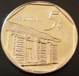 Moneda EXOTICA 5 CENTAVOS - CUBA, anul 2013   *cod 1004 - UNC!