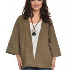 Bluza Dama Kimono Brodat KAKI