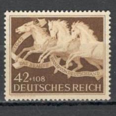 Deutsches Reich.1942 Galopul de cai Munchen  KF.466, Nestampilat