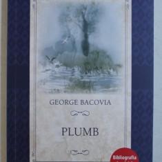 PLUMB de GEORGE BACOVIA , 2018
