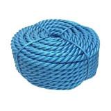 Franghie polipropilena, diametru 12 mm, lungime 50 m, Albastru
