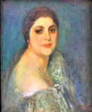 Pictura Tablou Michel Simonidy ,,Portrait de femme''