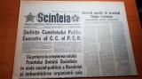 ziarul scanteia 31 octombrie 1979-art. despre energeticienii de la turceni