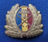 Insigna Militara Ofiter INFANTERIE - Coifura - insemn cascheta - CUC