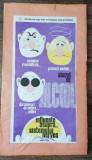 Afis Crucea RosieAnti alcool / apr.60x30 cm / lipit pe carton