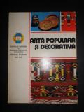 ARTA POPULARA SI DECORATIVA. ALBUM (1981)