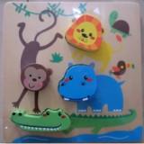 Cumpara ieftin Puzzle mic animale Baby Mix