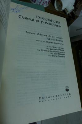 Drumuri - Calcul si Proiectare - Stelian Dorobantu 1980 foto