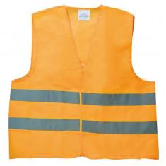 Vesta reflectorizanta Automax orange marime XL cu benzi reflectorizante Kft Auto