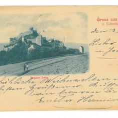 4051 - RUPEA, Brasov, Litho, Romania - old postcard - used - 1899