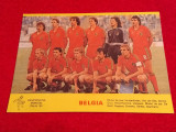 Foto echipa fotbal - BELGIA