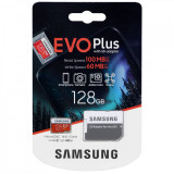 Card Memorie MicroSDXC Samsung, 128Gb, Clasa 10 / UHS-1 U1, cu mSD si Adaptor MB-MC128HA/EU