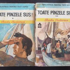 TOATE PANZELE SUS - Radu Tudoran (2 volume - Biblioteca pentru toti copiii)