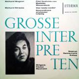 Vinyl Richard Wagner - Richard Strauss - Hanne-Lore Kuhse, clasica